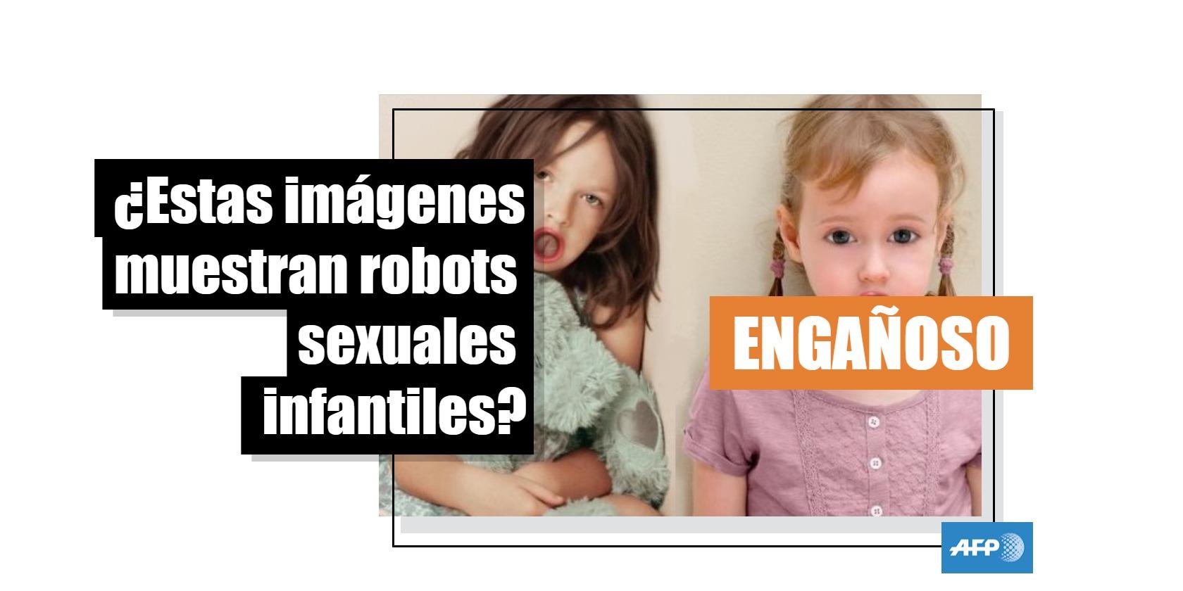 Collage realizado a partir de una captura de pantalla el 10 de octubre de 2018 de imágenes creadas para una campaña contra la pedofilia