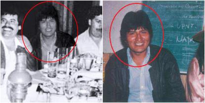 ¿Foto de Evo Morales con El Chapo y Pablo escobar es real?