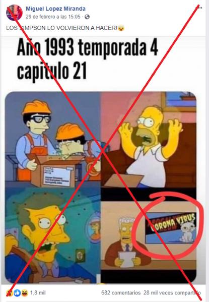 Los Simpson Sí Parodiaron Sobre Un Virus En 1993 Pero No Referían Al Nuevo Coronavirus Factual