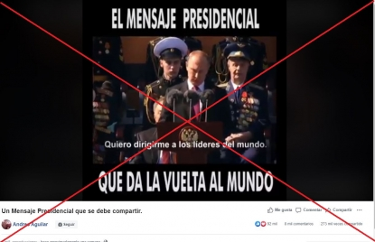 Vladimir Putin No Criticó El Nuevo Orden Mundial En Este Video Los Subtítulos Fueron Modificados Y No Corresponden Al Discurso Original Factual