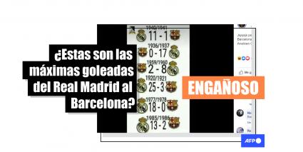 La Maxima Goleada Del Real Madrid Al Barcelona En El Clasico Fue 11 1 En 1943 Factual