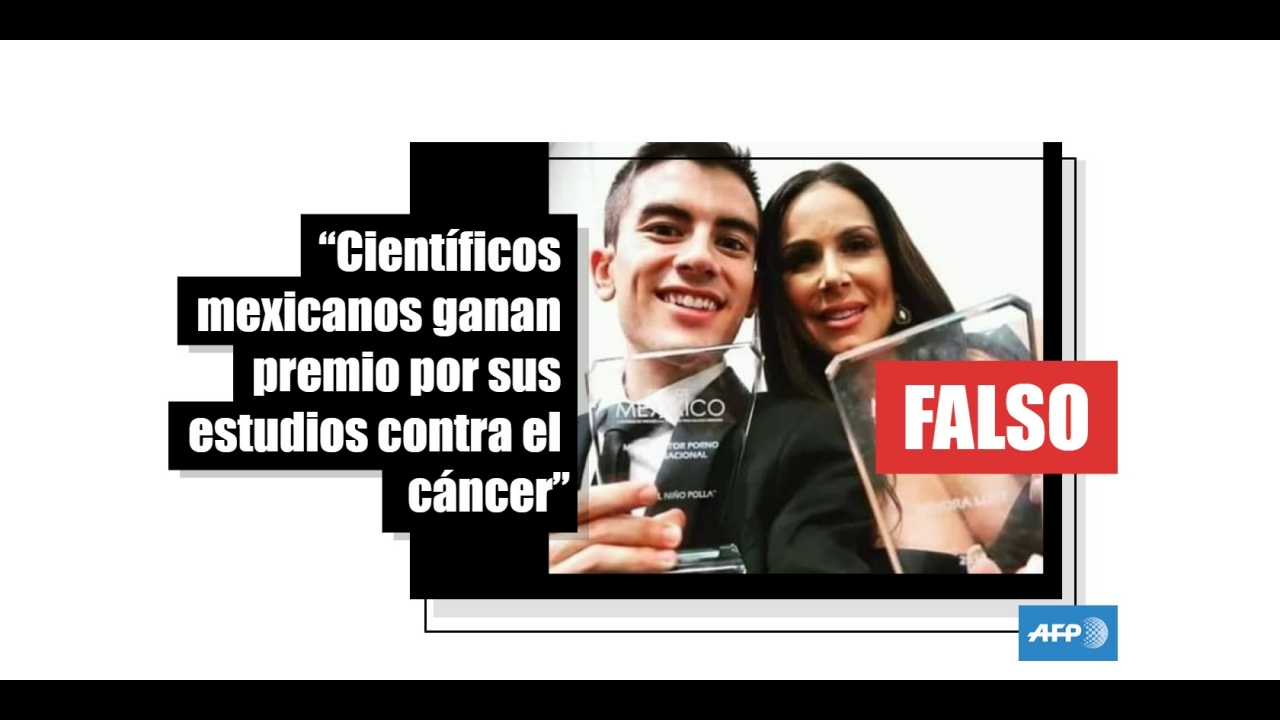 Actriz Porno Premio científicos mexicanos, premiados por sus estudios contra el